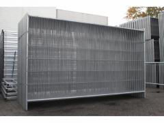 Ogrodzenia siatkowe panelowe