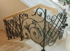 Decorative railings and handrails, stair railings
