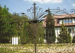 Forged tilting, high-class fencing gates
