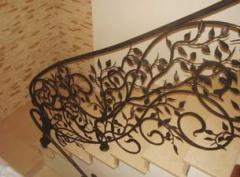 Wrought iron railings original design