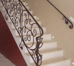 Ornamental wrought iron railings ALAB
