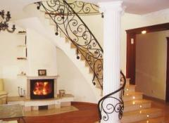 Stair railings and balconies, workmanship and