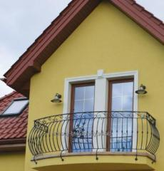 Wrought iron balcony railings modern, the