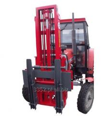 Lift loaders on tractor chassis