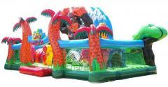 Wielki, nadmuchiwany plac zabaw - dżungla. 5,5 *
