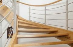 Stairs and railings, balustrades interior,