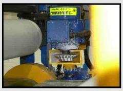 Linie technologiczne do obróbki styropianu na wszystkich etapach produkcyjnych służących do cięcia, frezowania, obracania lameli, multipiła do płyt itp.