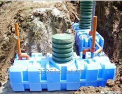 Swedish household installations of sewage treatmen