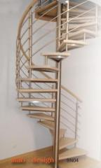ALAB Design, stairs modern curly soaring