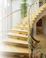 Stairs to the house, construction, design, modern