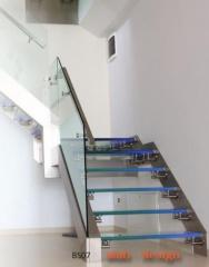 Load-bearing glass balustrades, modern solutions