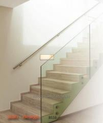 Modern and functional stainless steel railings