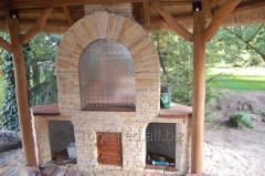 Altany wyposażone w   grill
