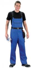 Spodnie robocze z wzmocnionymi kieszeniami i kolanami.