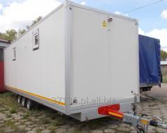 Modular cabins showers