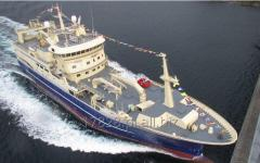 Statek rybacki NB77/1 i 2 - Trawler