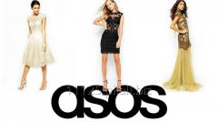 ASOS mix odzieży damskiej - mix multibrands - dostępne wszystkie sezony - 1 i 2 GATUNEK (micro-defekt) -bardzo ładne modele - 100 szt