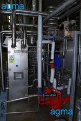 Instalaciones de pasterización-enfriamiento