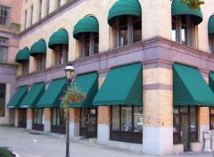 Awnings for cafe
