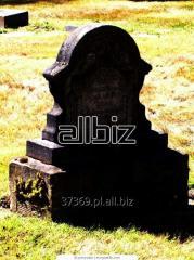 Monuments, headstones, stone