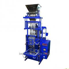 Automatic weighing-and packing machine with a
