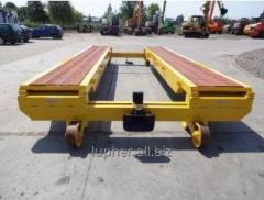 Hand-moved rairoad equipment: monorail cart