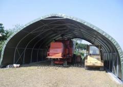 Hangar namiotowy na maszyny rolnicze, zapewnia