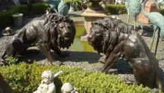 CARING FOR THE YARD, two lions palace, exclusive