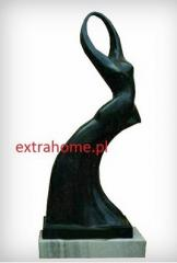 Exclusive marble sculptures, abstraction, WHITE