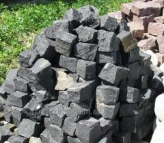 The stone blocks is basalt, very firm stone. It is