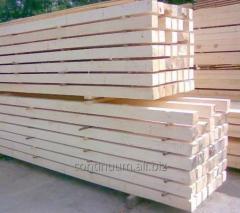 Belki drewniane, wyprodukowane na niemieckiej linii do cięcia.
