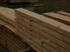 Rafters, ideal material for a roof and facades.