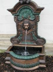 Stylish garden fountains with bronze great as part