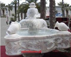 Classic fountain 4 pitchers, rarity, adorn a hotel