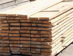 The wood which is cut off is made from a dry tree,