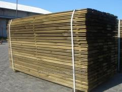 Timber, quality of production according to the