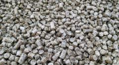 Granules fuel (pellets), type of packing depends