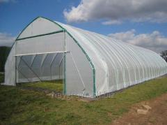 Plastic tunnel designed to ensure maximum strength