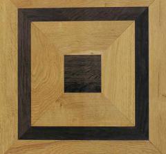 Piękna bordiura z litego drewna, doskonały akcent