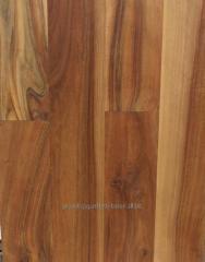 Parquet board from walnut