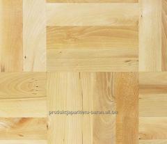 Parquet board made of beech