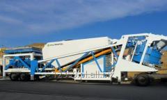 Units concrete mixing mobile