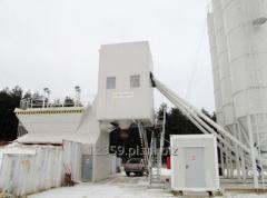 Niezawodne stacjonarne wytwórnie betonu 30 - 160 m3/h