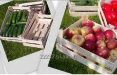 Tanie skrzynki drewniane do pakowania owoców i warzyw