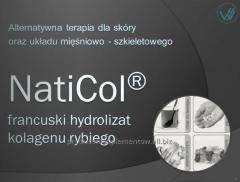 Nutrikosmetyki na bazie  naturalnego kolagenu