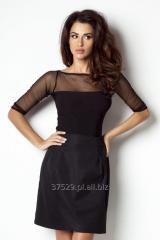 Czarna seksowna bluzka damska