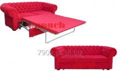 Sofa Chesterfield Classic 217 cm. Rozkładana