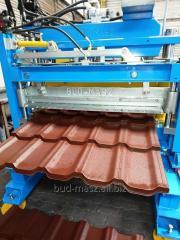 Line profiling roof tiles modular D22 621-3R