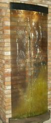 Mega Hit Fountain waterfall of glass with any
