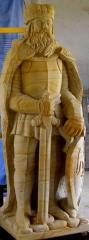 Statue of King of sandstone 170cm